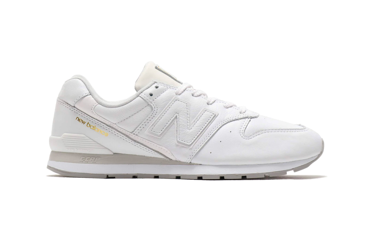 new balance 996 grey and white trainers