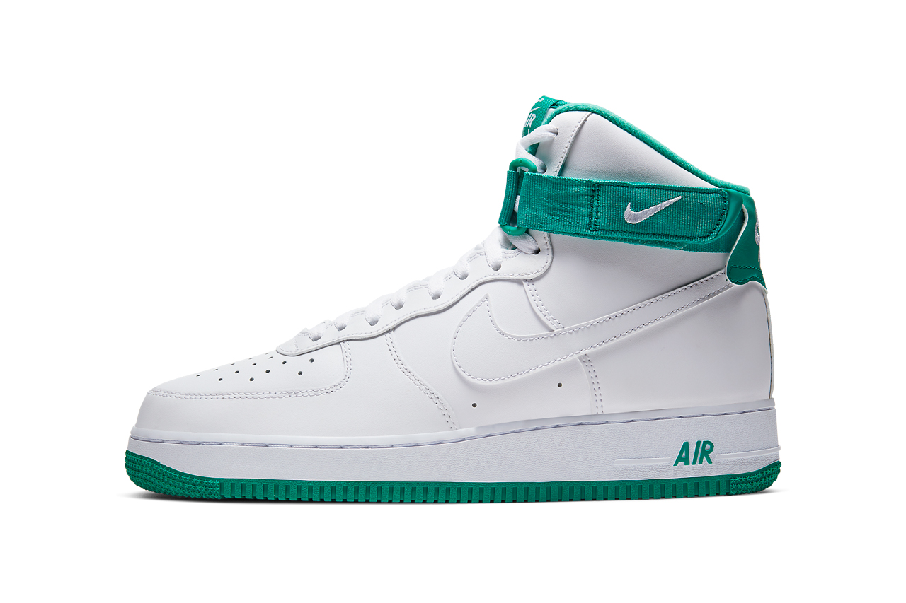 nike air force 1 high neptune green white  cd0910 101 release date info photos price
