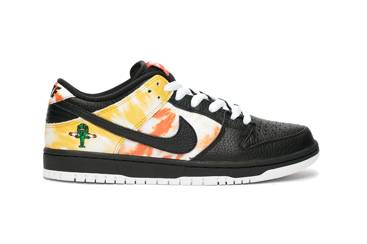 nike sb dunk low ray gun raygun tie dye white BQ6832 001 sandy Bodecker release date info photos price BQ6832 001