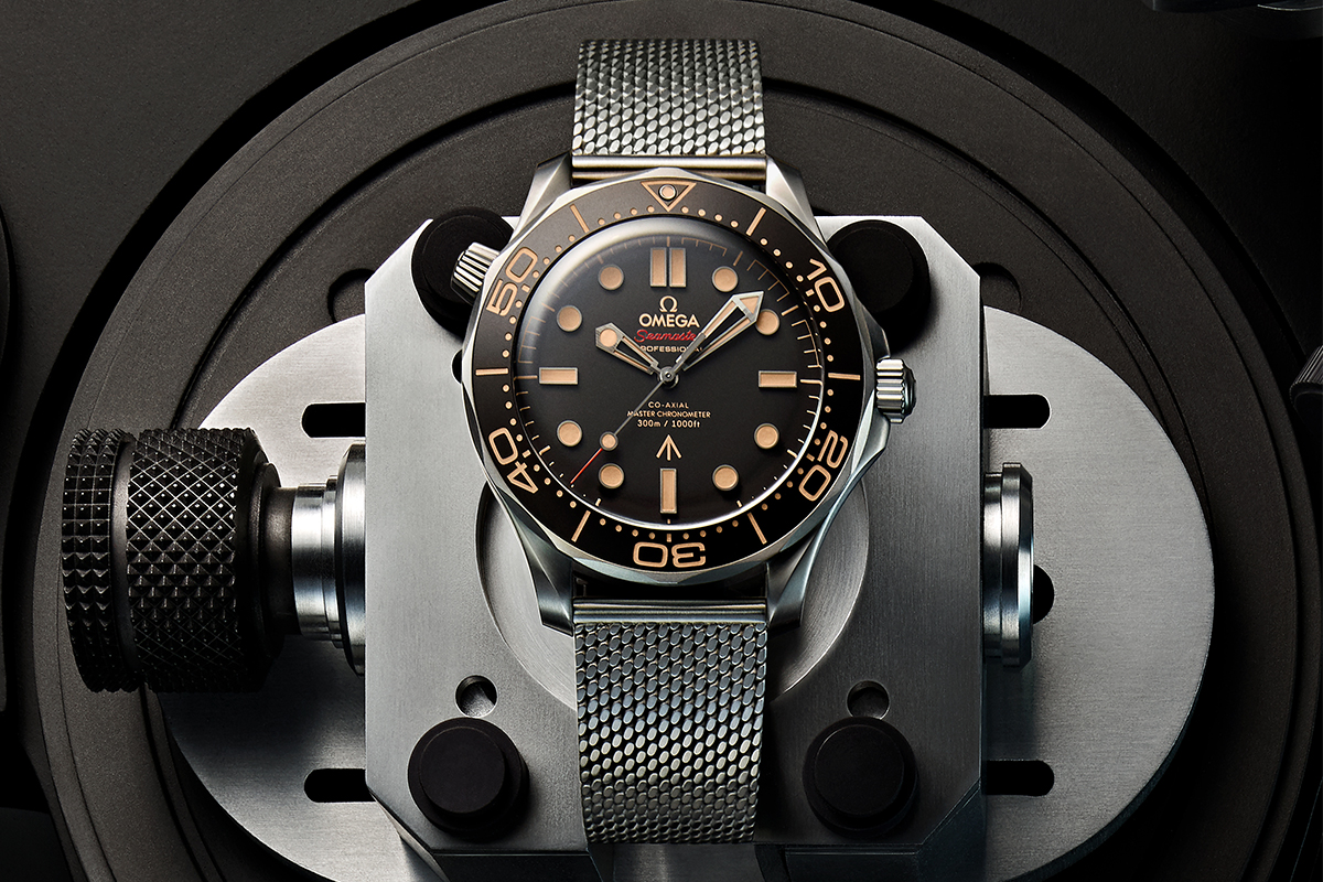 OMEGA Seamaster Diver 300M No Time To Die 007 Edition Release Info Date Milanese strap Daniel Craig