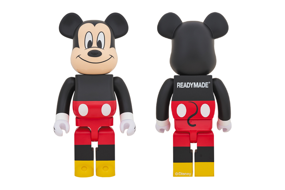 READYMADE Medicom Toy Mickey Mouse BEARBRICK 1000 toys figures toymakers Yuta Hosokawa retro vintage classic collectibles disney plus model japanese designer furniture