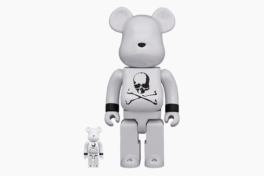 Mastermind JAPAN x Medicom Toy White Chrome BE@RBRICK