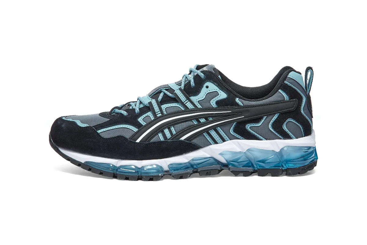 "ASICS GEL Nandi 360 ""Carrier Grey/Smoke Blue"" Release Info 1021a190-021 drop info end buy now price blue gray 90s trail runner sneaker"