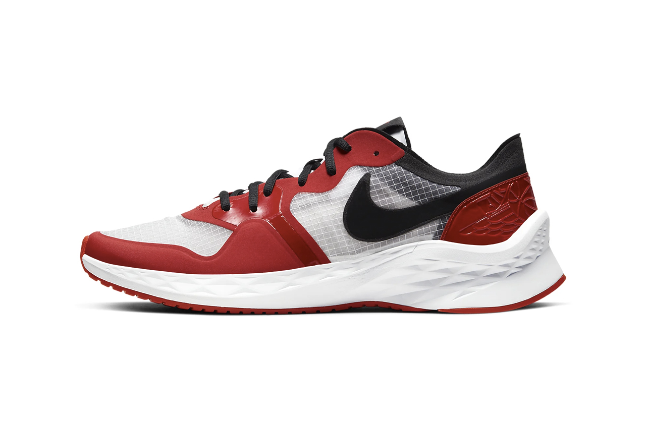 "Nike Jordan Brand 85 Racer ""White/University Red/Black"" Sneaker Running Footwear Drops Release Information AJ1 Inspiration Chicago Light CI0055-106"