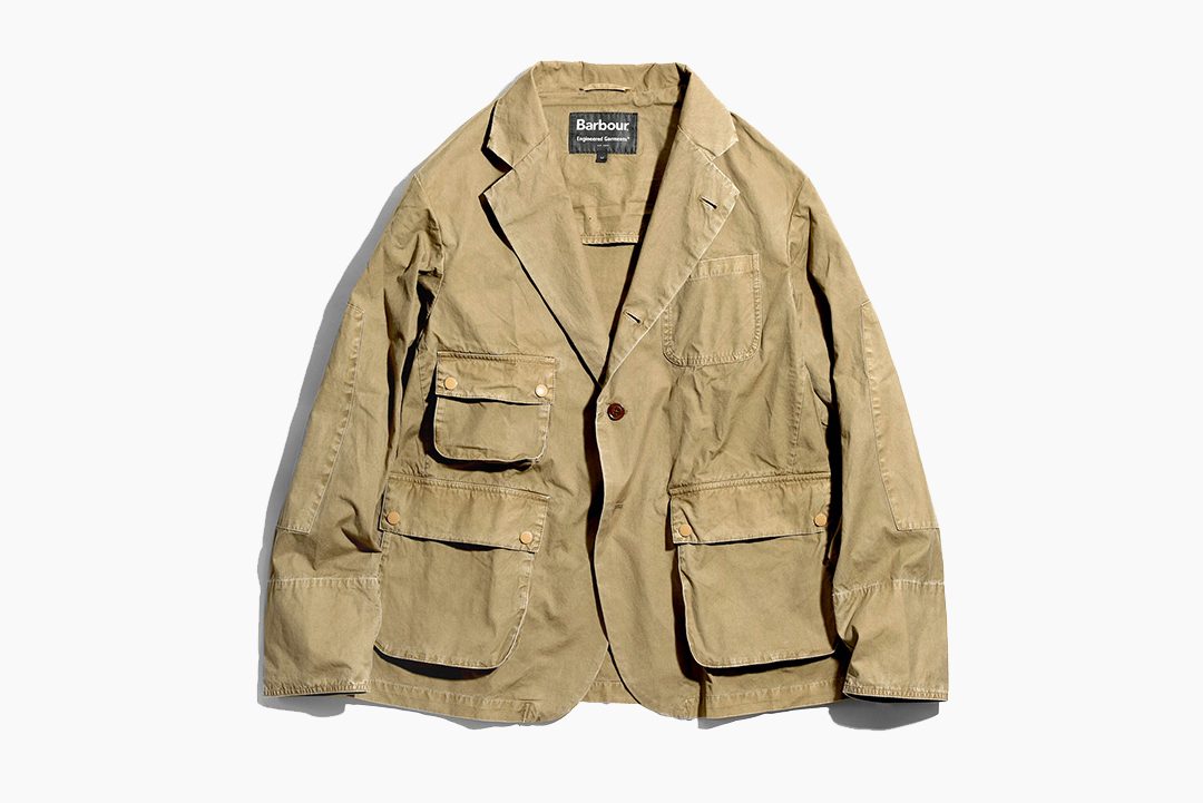Engineered Garments x Barbour Highland Parka