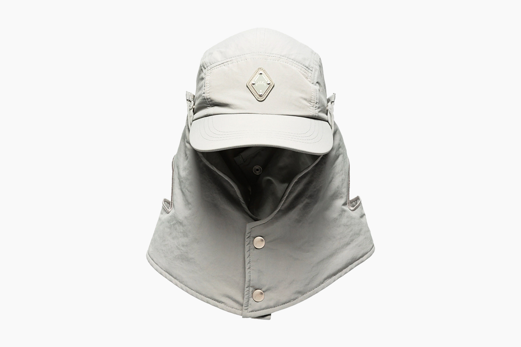 A-COLD-WALL* Gray Buttoned Desert Hat