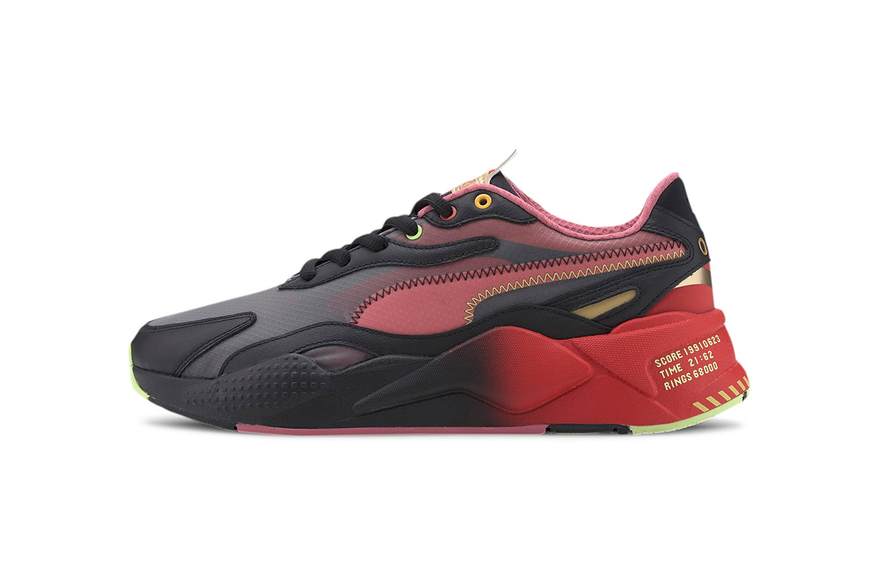 PUMA performance pr hand pocket Black//red