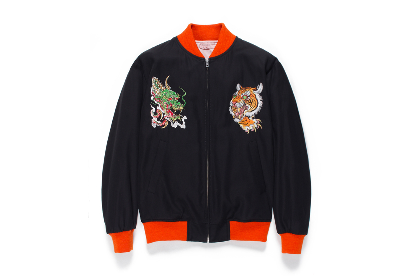 Tim Lehi WACKO MARIA Spring/Summer 2020 Embroidered Vietnam souvenir Jackets collection capsule menswear streetwear collaborations tattoo artist american japanese outerwear embroidery motif traditional artwork