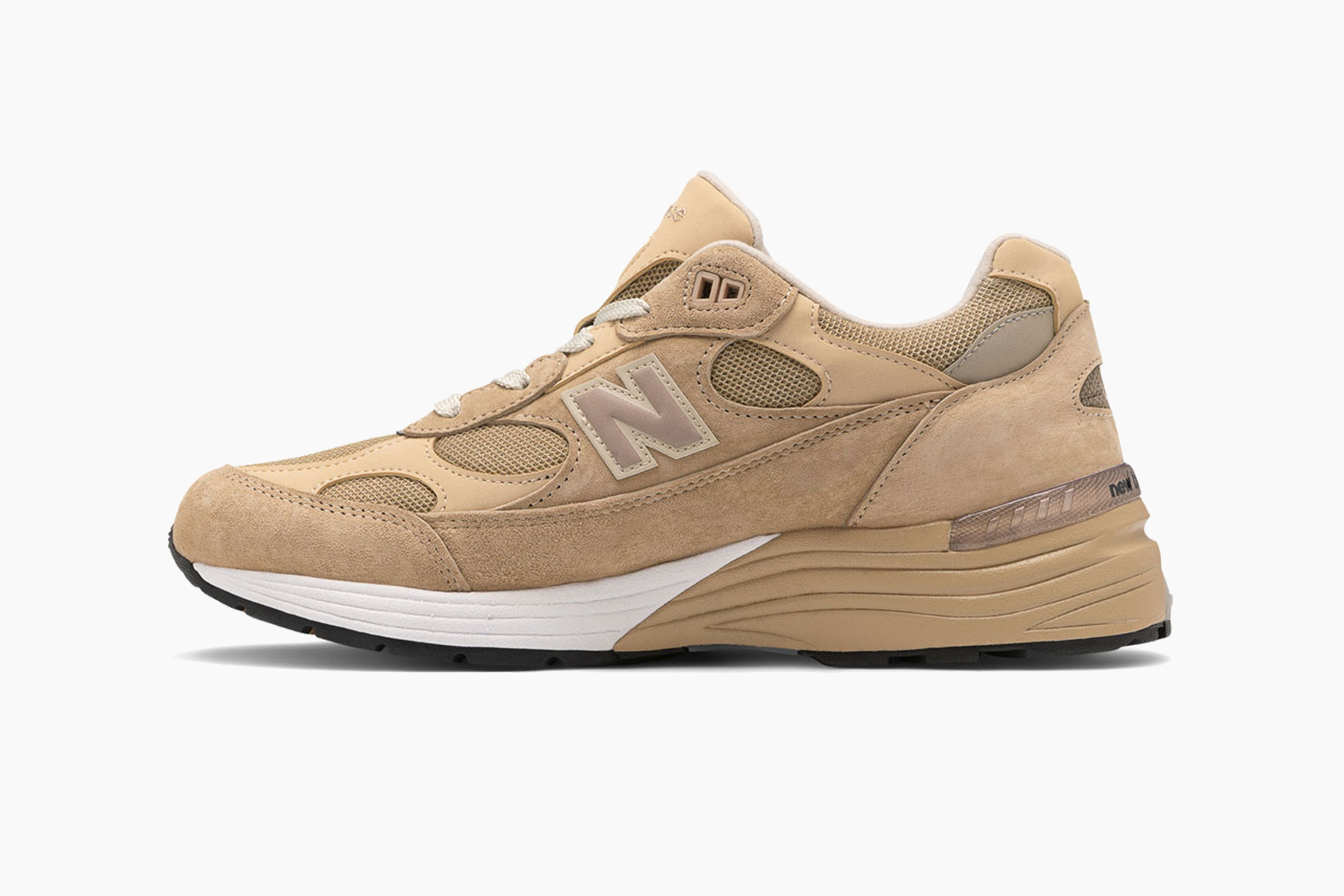 New Balance Made in US 992 Tan With White