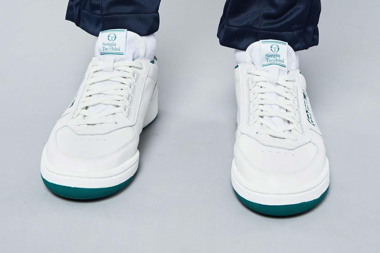 dao yi chow sergio tacchini new young line sneaker release rerelease tennis shoe red navy forest green