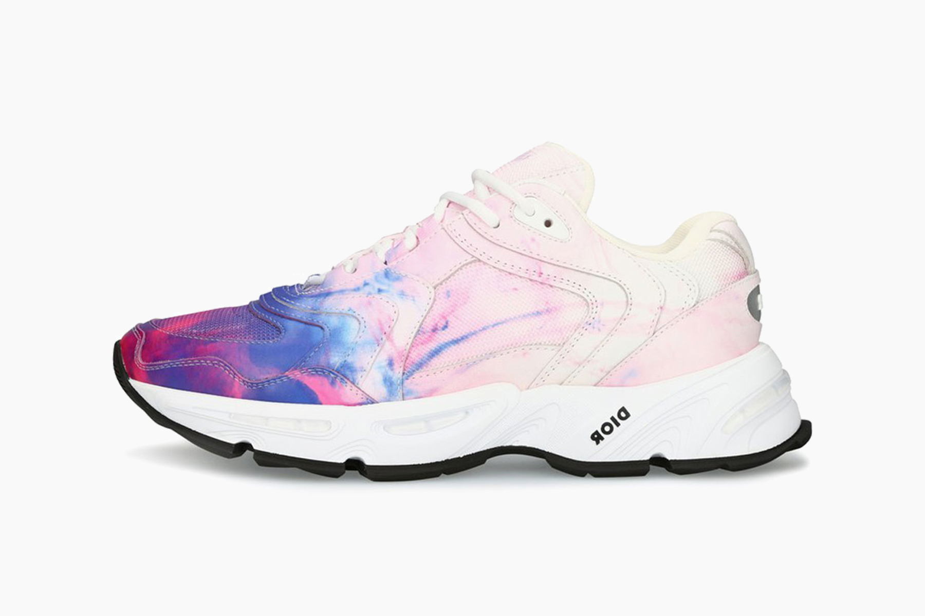 Dior CD1 Sneakers With Tie-Dye Print