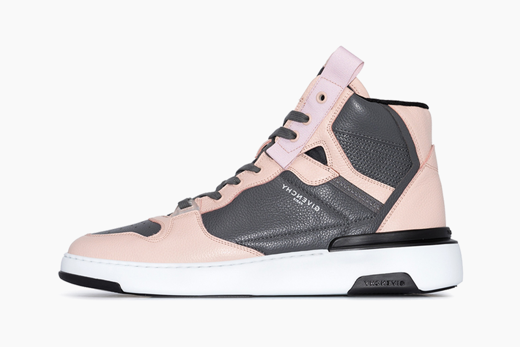 Givenchy Wing Leather High Top Sneakers