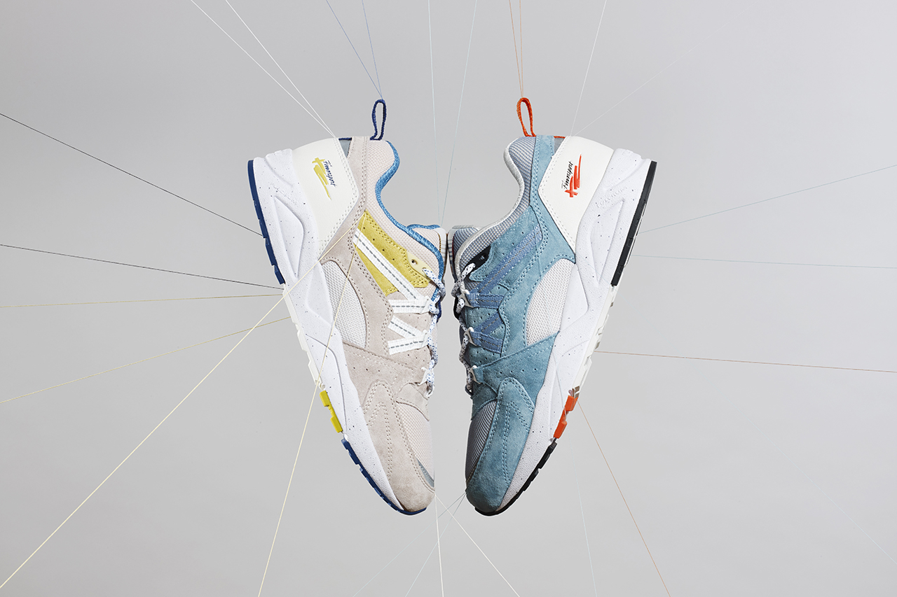 "Karhu Legend SS20: Fusion 2.0 ""True to Form"" Campaign Imagery Release Information Sneaker Drop Dates Bram Spaan Photography Closer Look Strings Threads Sewing"