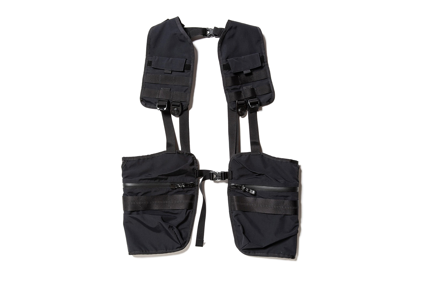 MEANSWHILE x Master-Piece Capsule Collection tactical vest backpack bags daypack sacoche luggage vest drop date price details