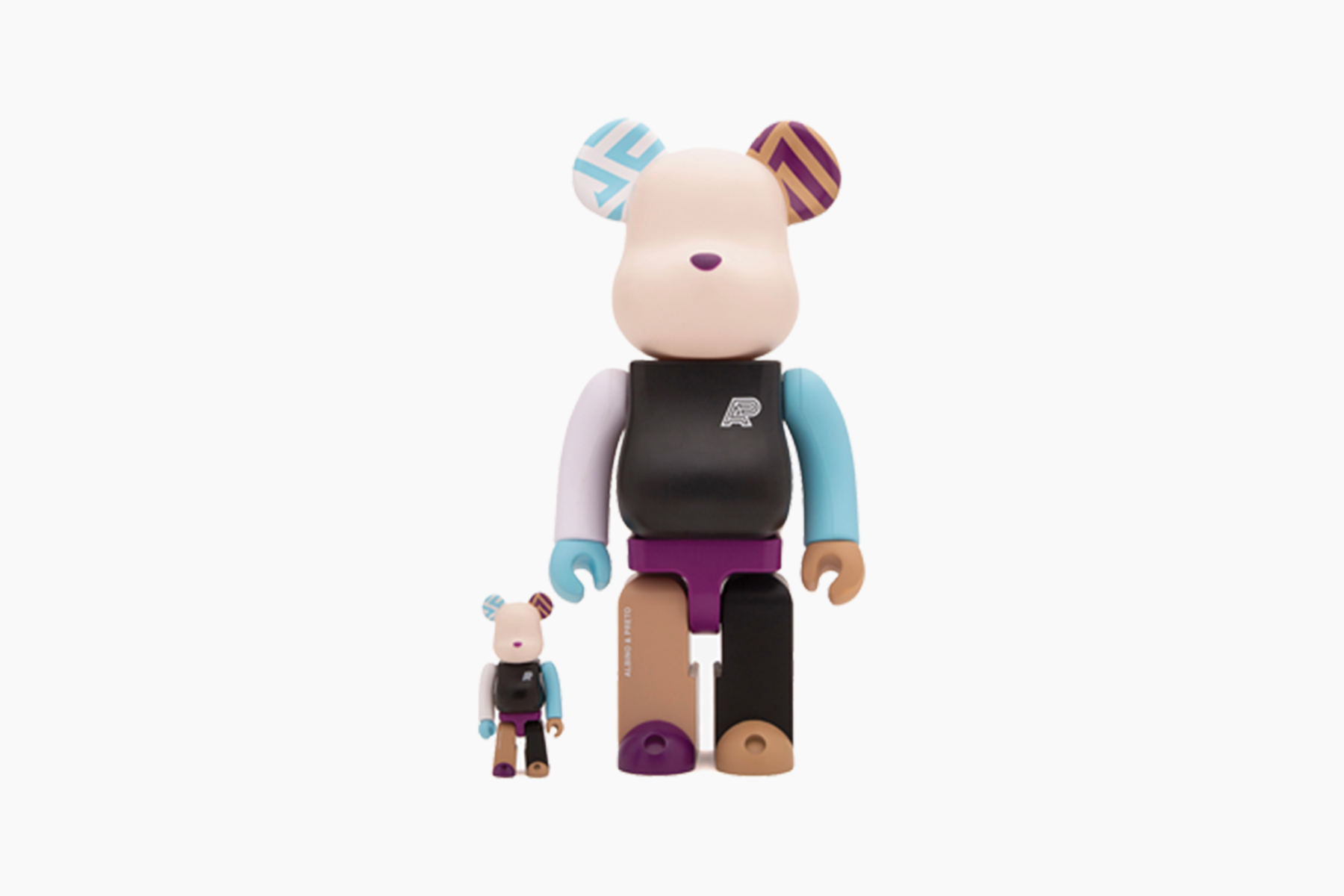 Albino & Preto x Medicom Toy BE@RBRICK Collection