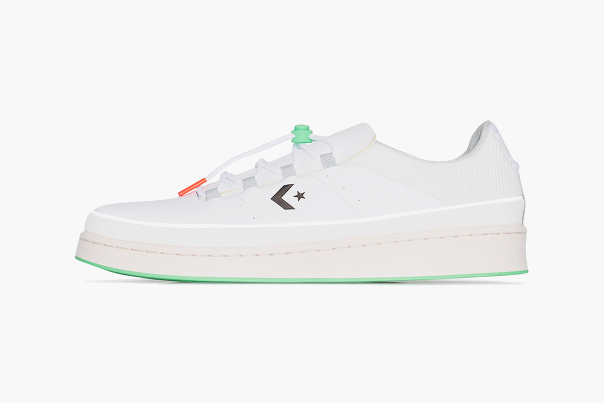 Converse White Pro Leather 1980 Low