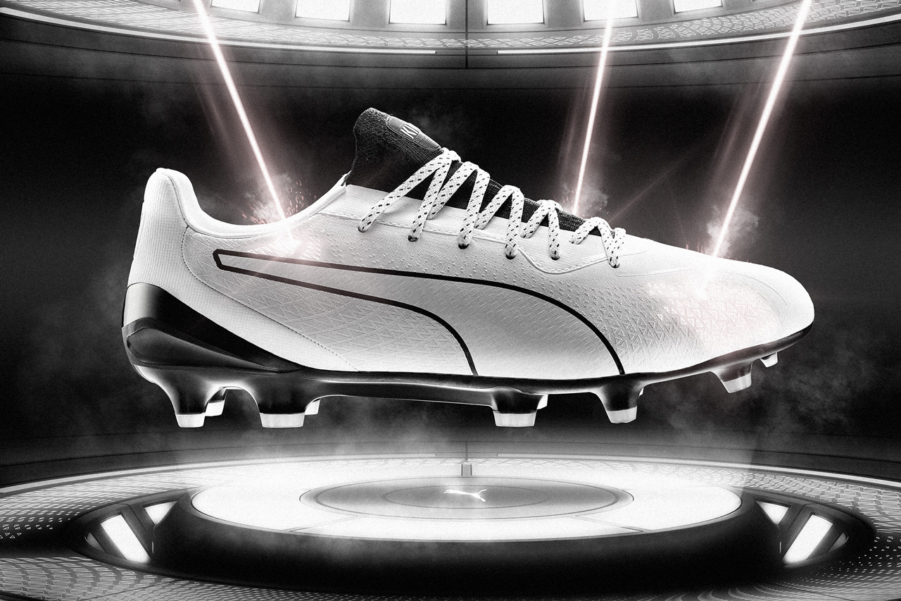 puma king platinum lazertouch football soccer boot black white release date info photos price