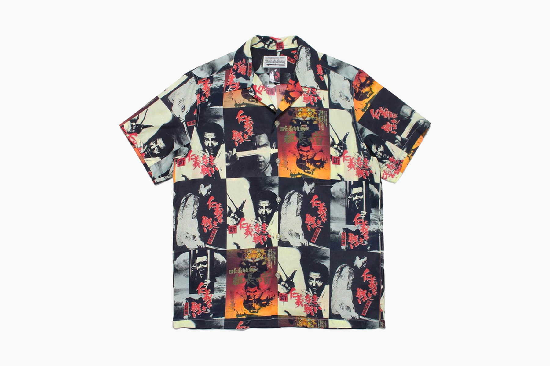 WACKO MARIA 'Battles Without Honor and Humanity' Hawaiian Shirts