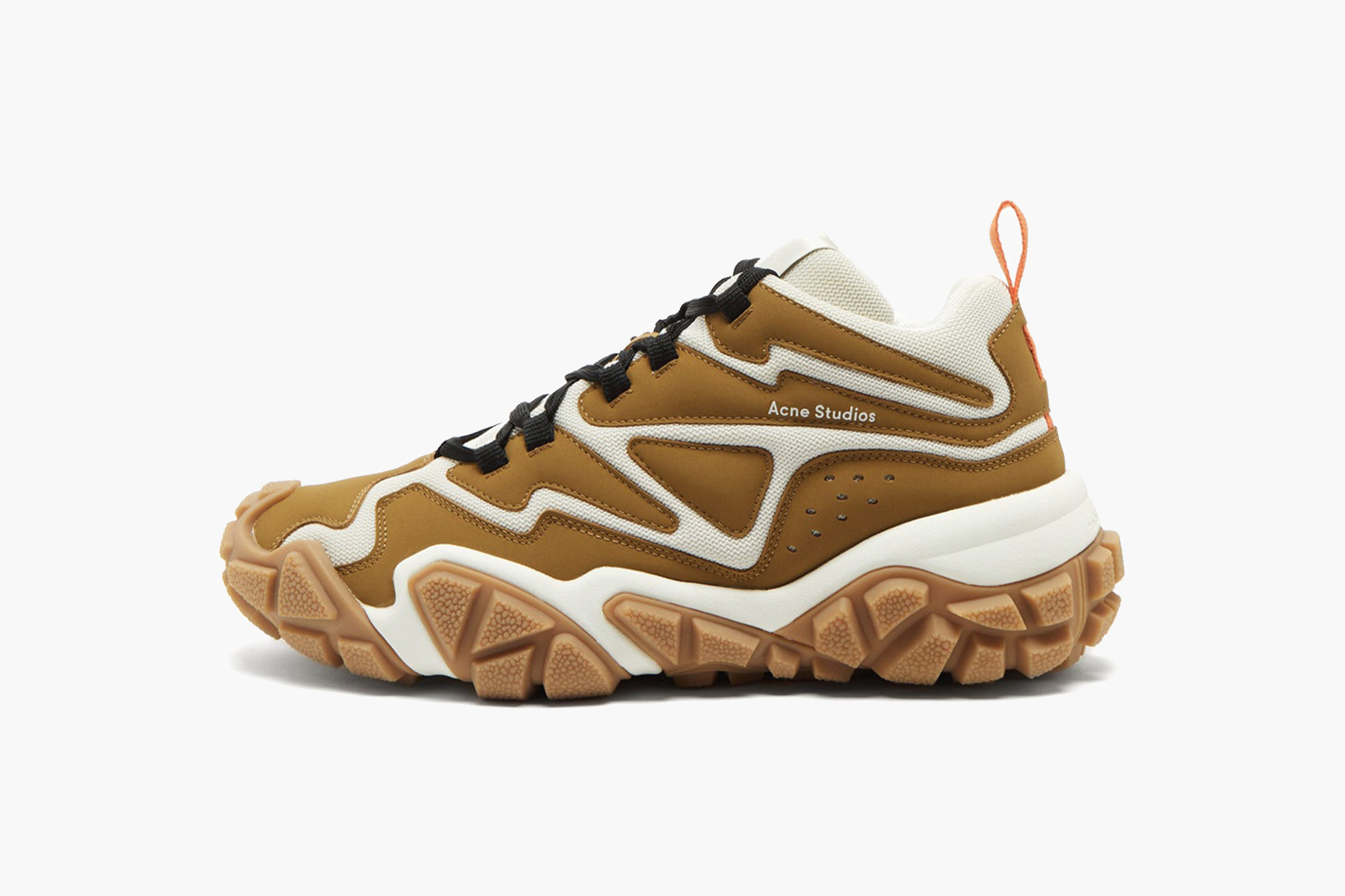 Acne Studios Chunky Sole Suede and Mesh Trainers