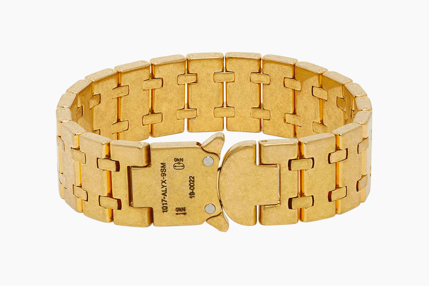 1017 ALYX 9SM Gold Royal Oak Bracelet