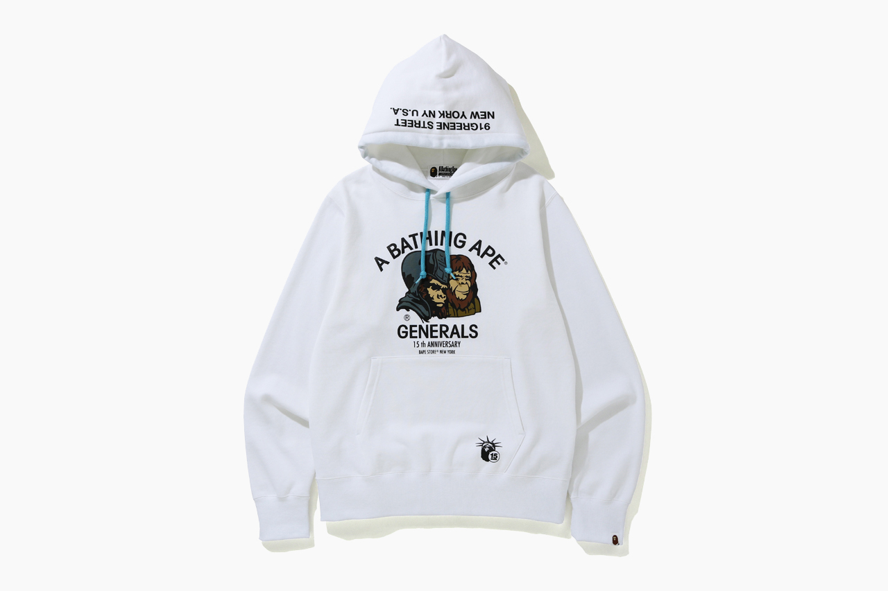 BAPE New York Store 15th Anniversary Collection