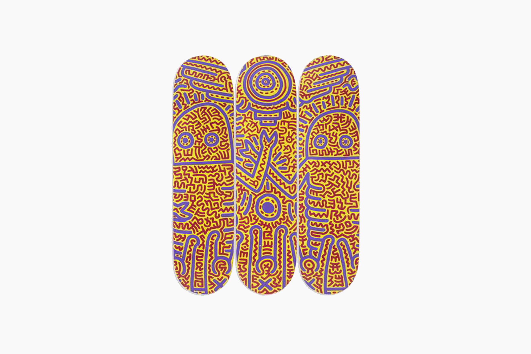 Keith Haring Untitled Skateboard