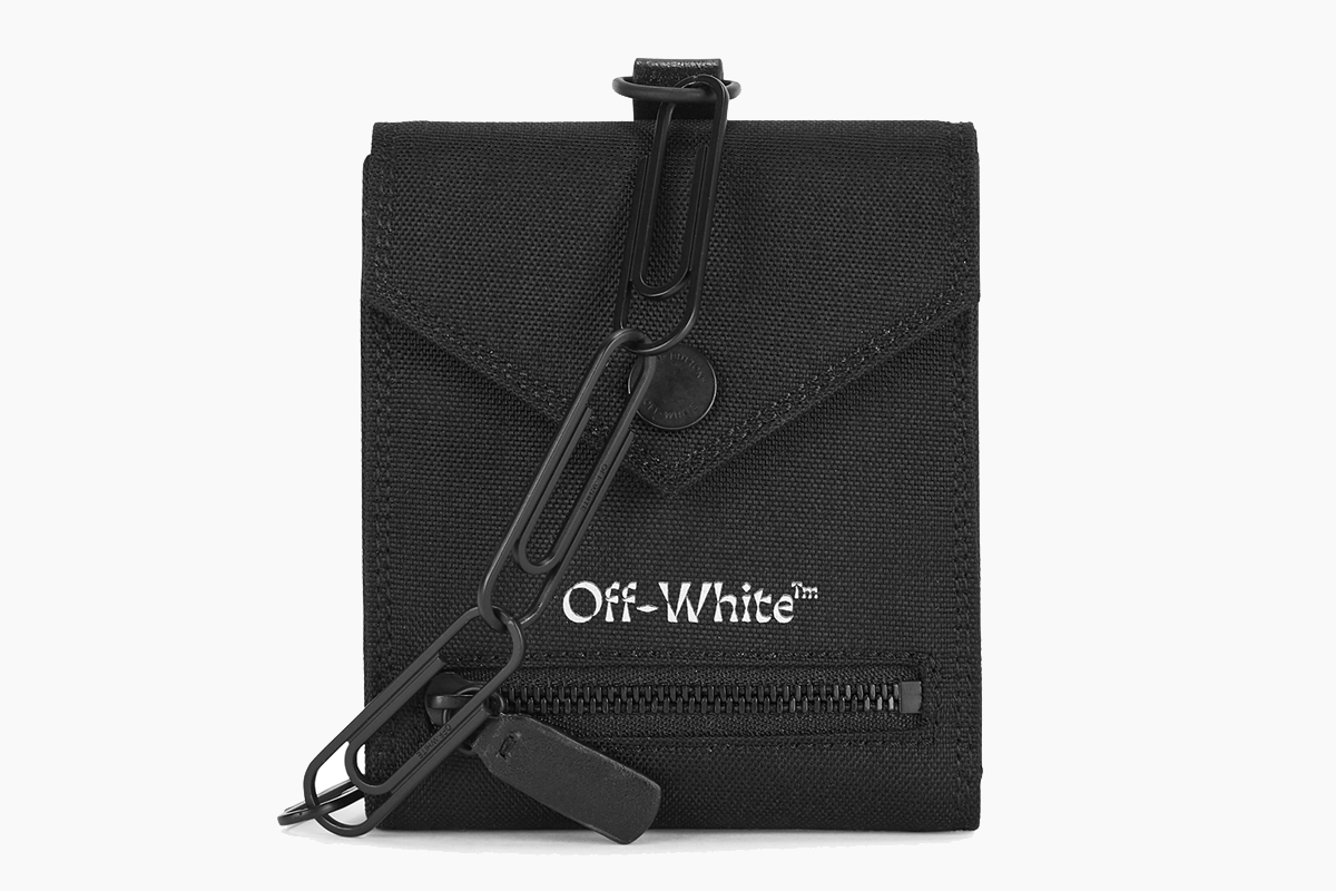 Off-White™ Canvas Chain Wallet