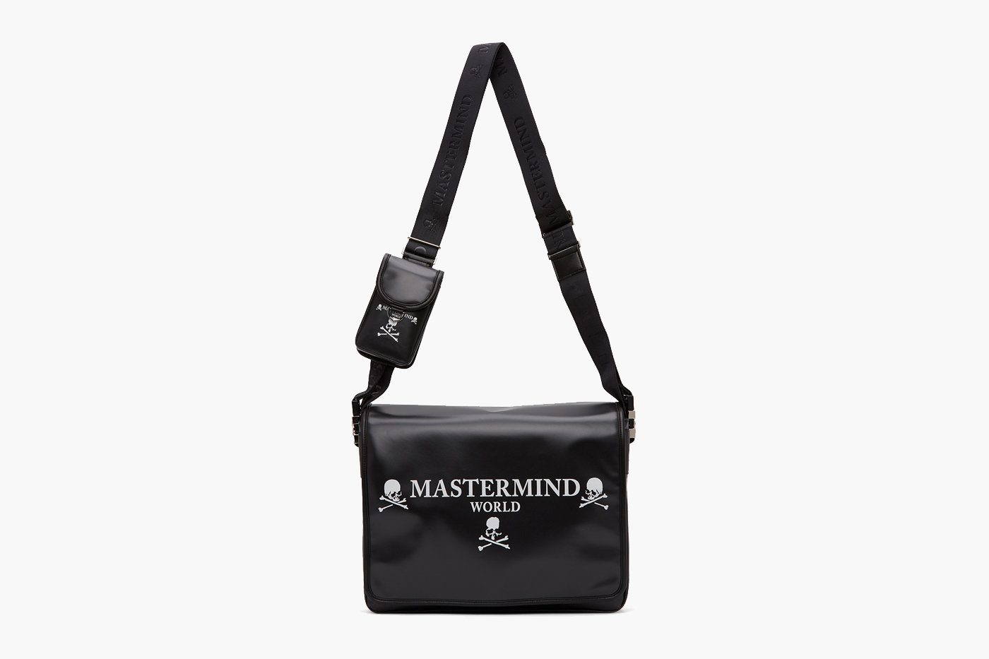 mastermind WORLD Skull Messenger Bag