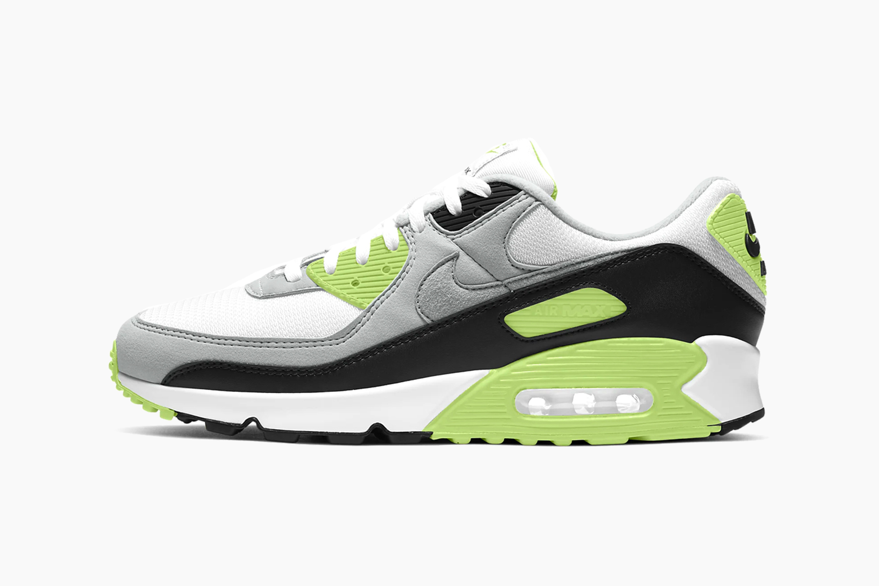 air max 90 grige nere