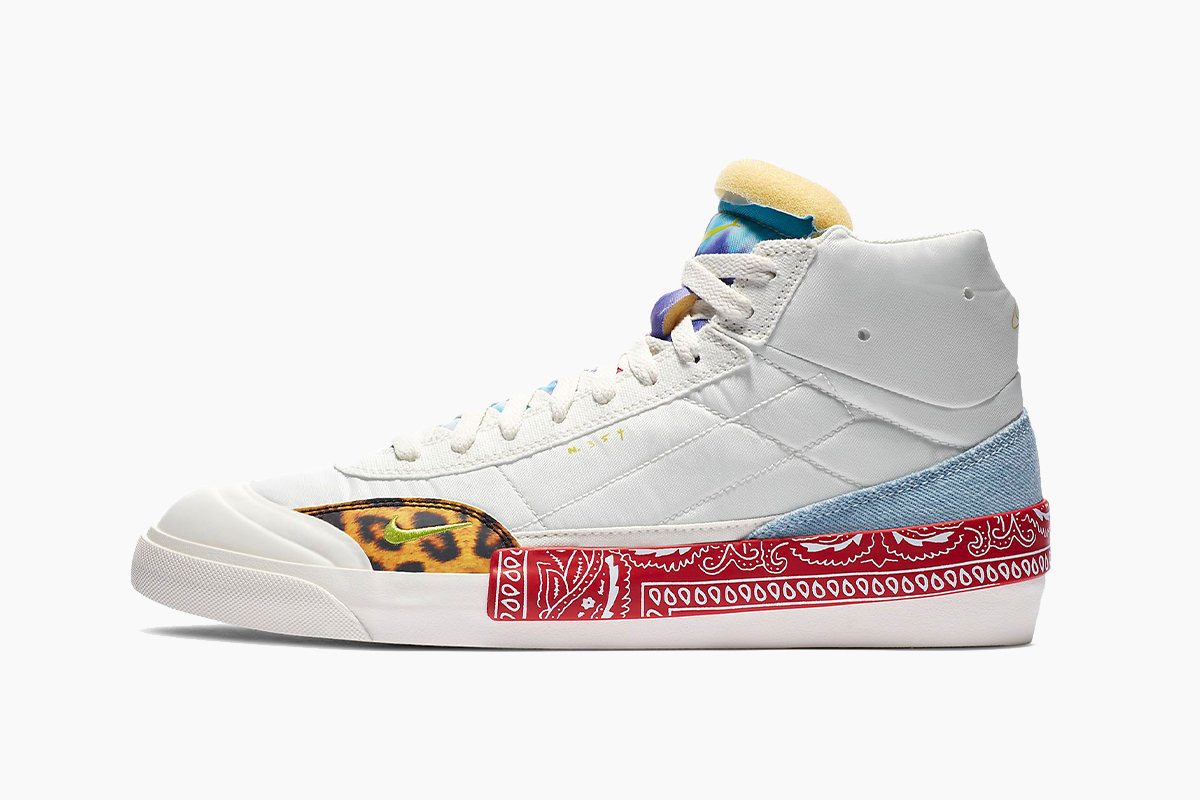 Nike Drop-Type Mid and HBR Patchwork