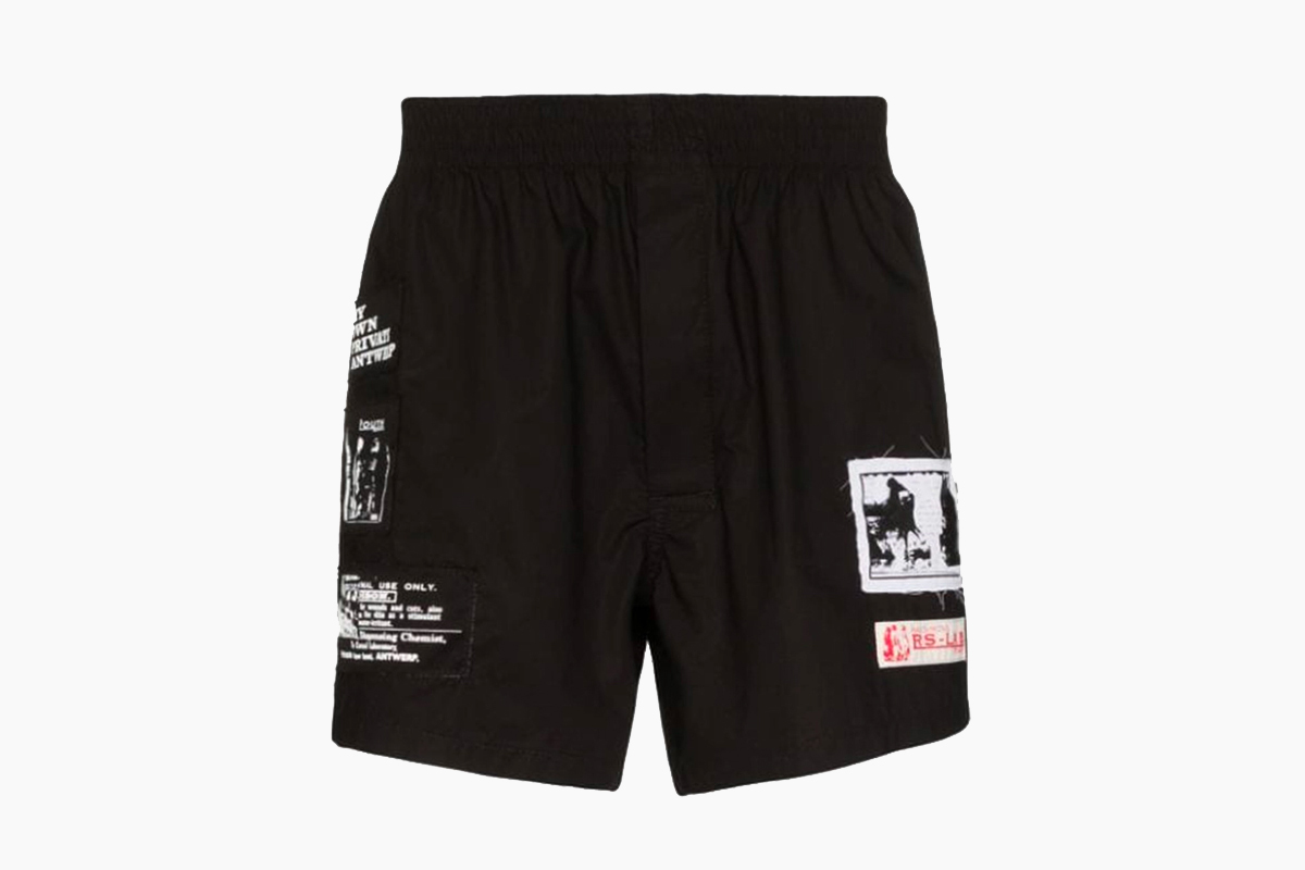 Raf Simons Patch Boxer Release