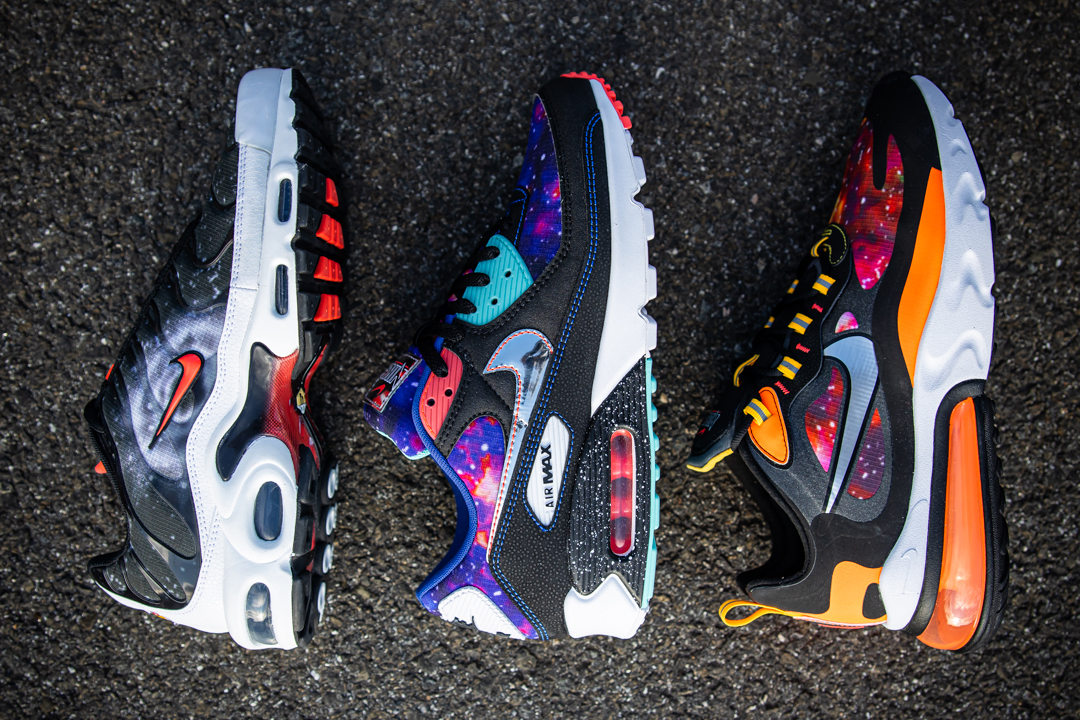 foot locker nike sportswear jordan brand summer 2020 packs pherspective supernova air max 90 270 react plus force 1 release date info photos price store list