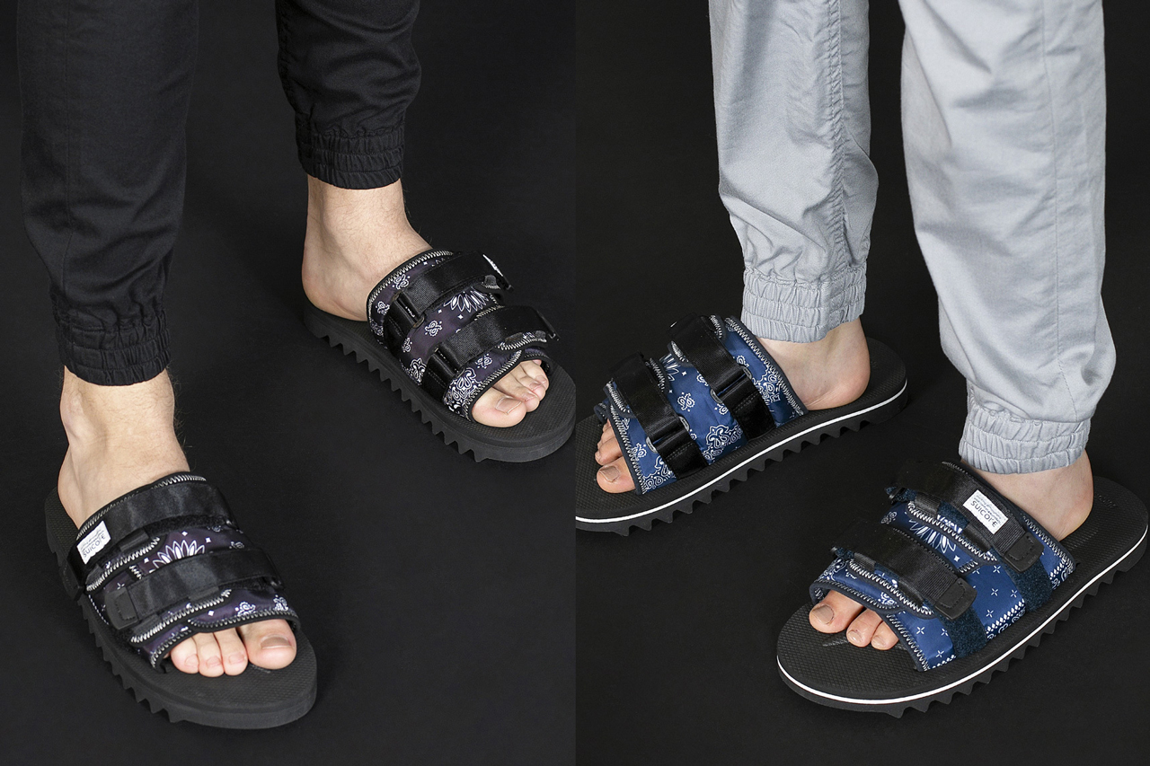monkey time x Suicoke SS20 Sandal Collection