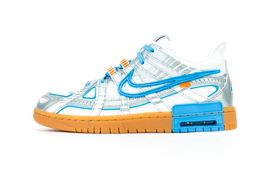 Off White Nike Air Rubber Dunk University Blue First Look CU6015-100 Release Info Buy Price