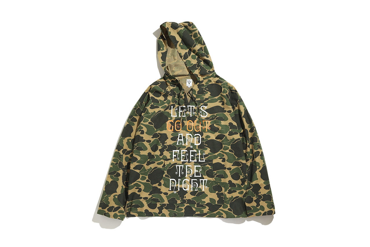 GO OUT x SOUTH2 WEST8 MEXICAN PARKA