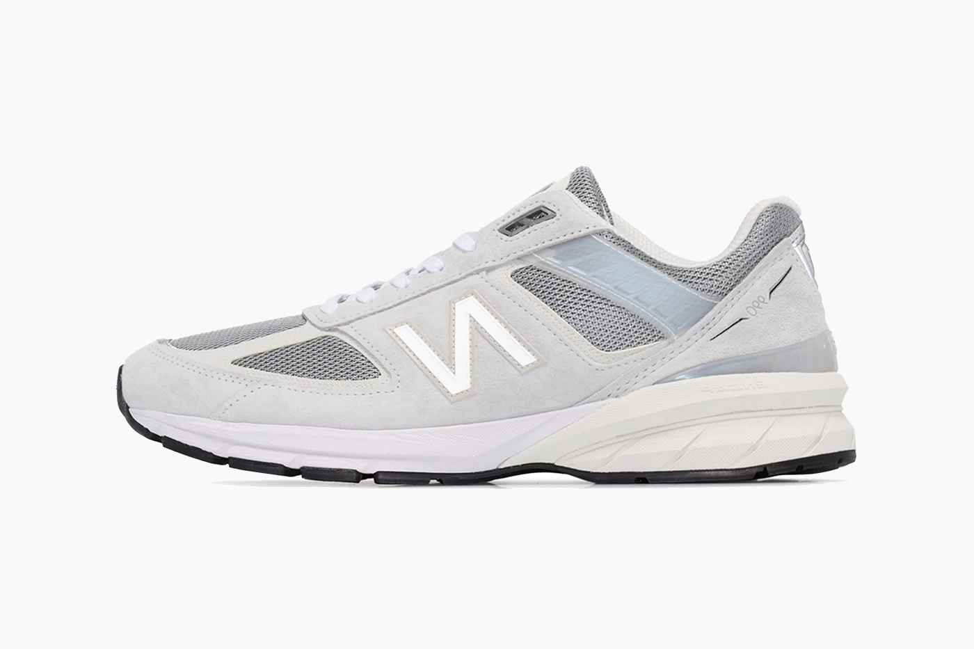 New Balance Grey M990 Reflective Sneakers