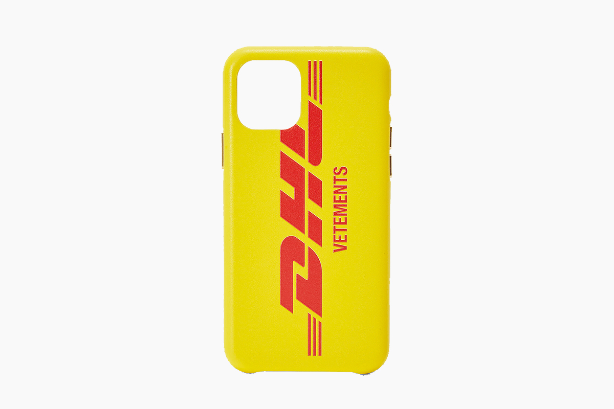 Vetements x DHL iPhone 11 Case