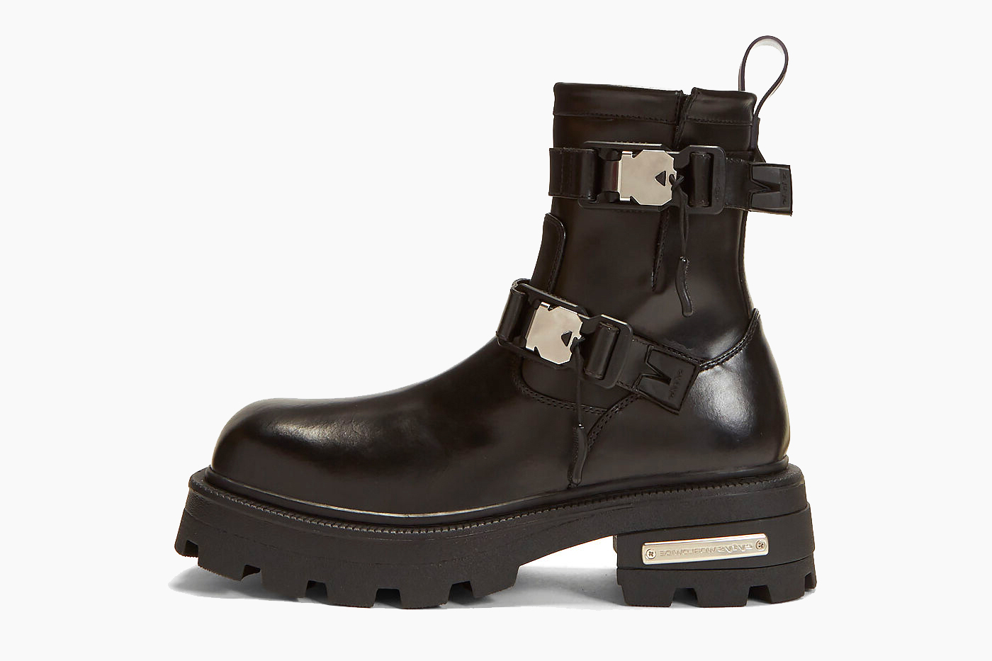 Eytys Blade Leather Boots in Black
