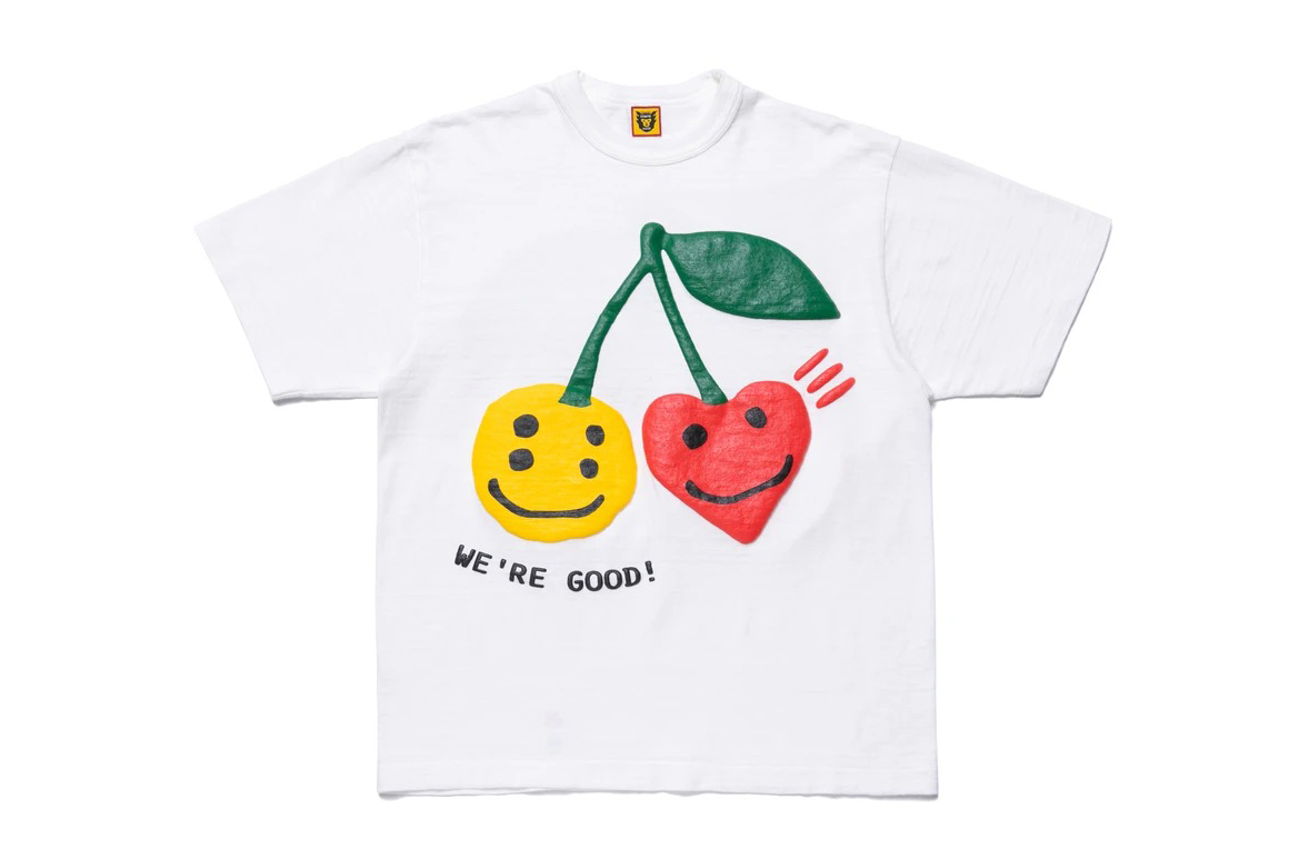 Cactus Plant Flea Market x HUMAN MADE Summer 2020 collaboration capsule collection june 27 release date drop info tee shirt aloha short sleeve camp collar rug smiley face cherry