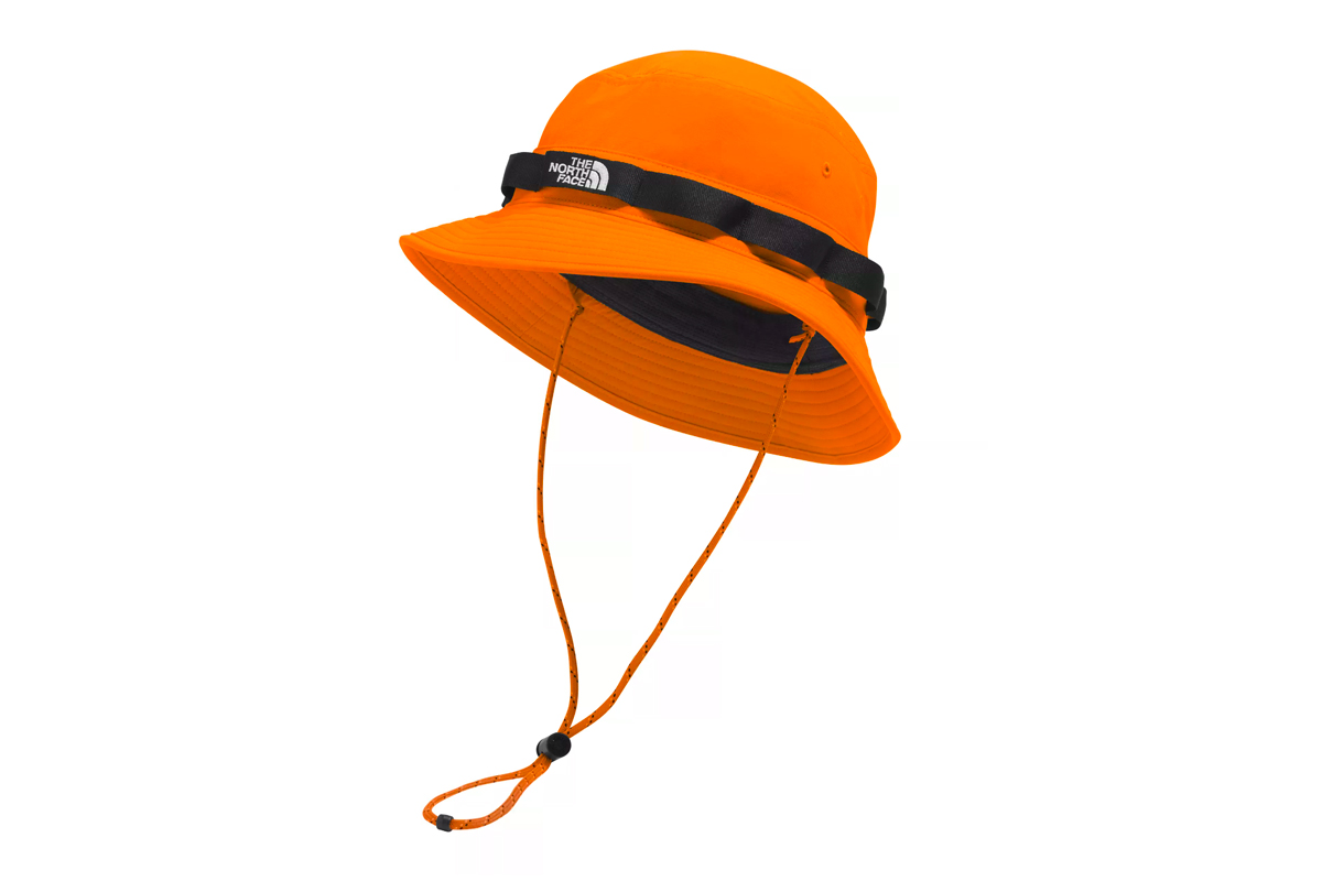 The North Face CLASS V BRIMMER Hat Release hats outdoors camping bucket hats water-resistance shade sun summer hot fishing