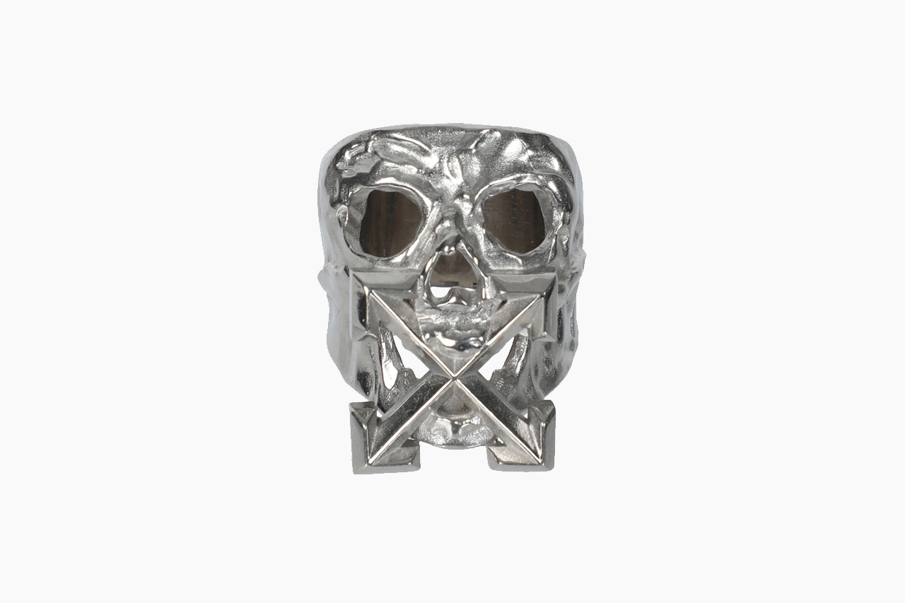 Off-White™ Silver-Toned Punk Ring