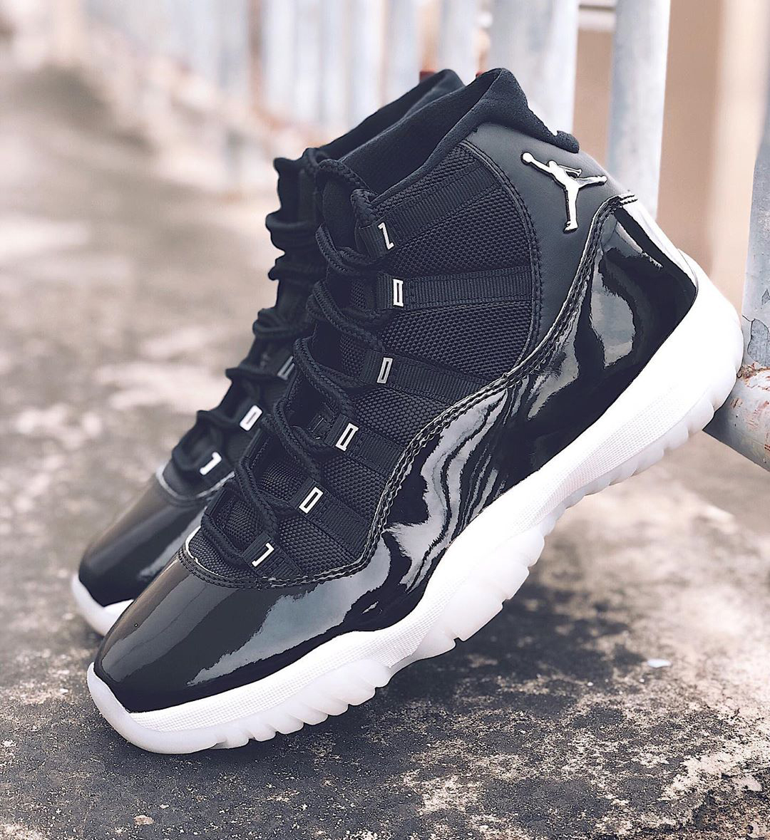 air jordan brand 11 25th anniversary black white metallic silver clear ct8012 011 official release raffle date info photos price store list buying guide