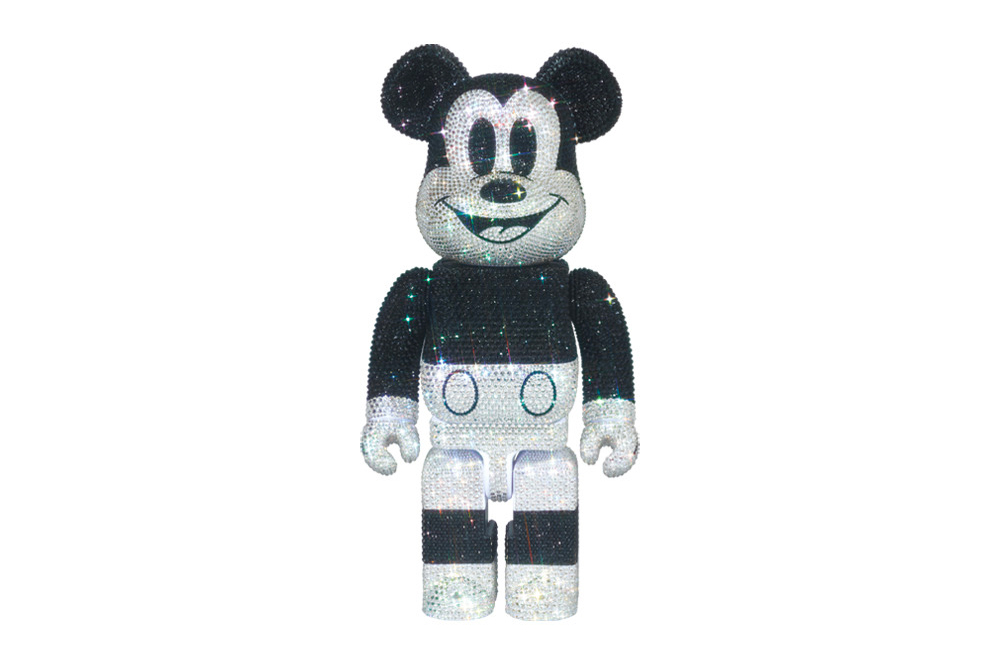 Medicom Toy LIGHT STYLE Swarovski Mickey Mouse BEARBRICK 400 figures toys collectibles disney character spring summer 2020 collection ss20