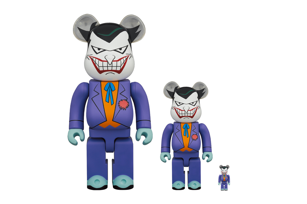 Medicom Toy BEARBRICK The Joker 100 400 figures toys collectibles novelties spring summer 2020 collection japanese brand batman robin comic book dc universe