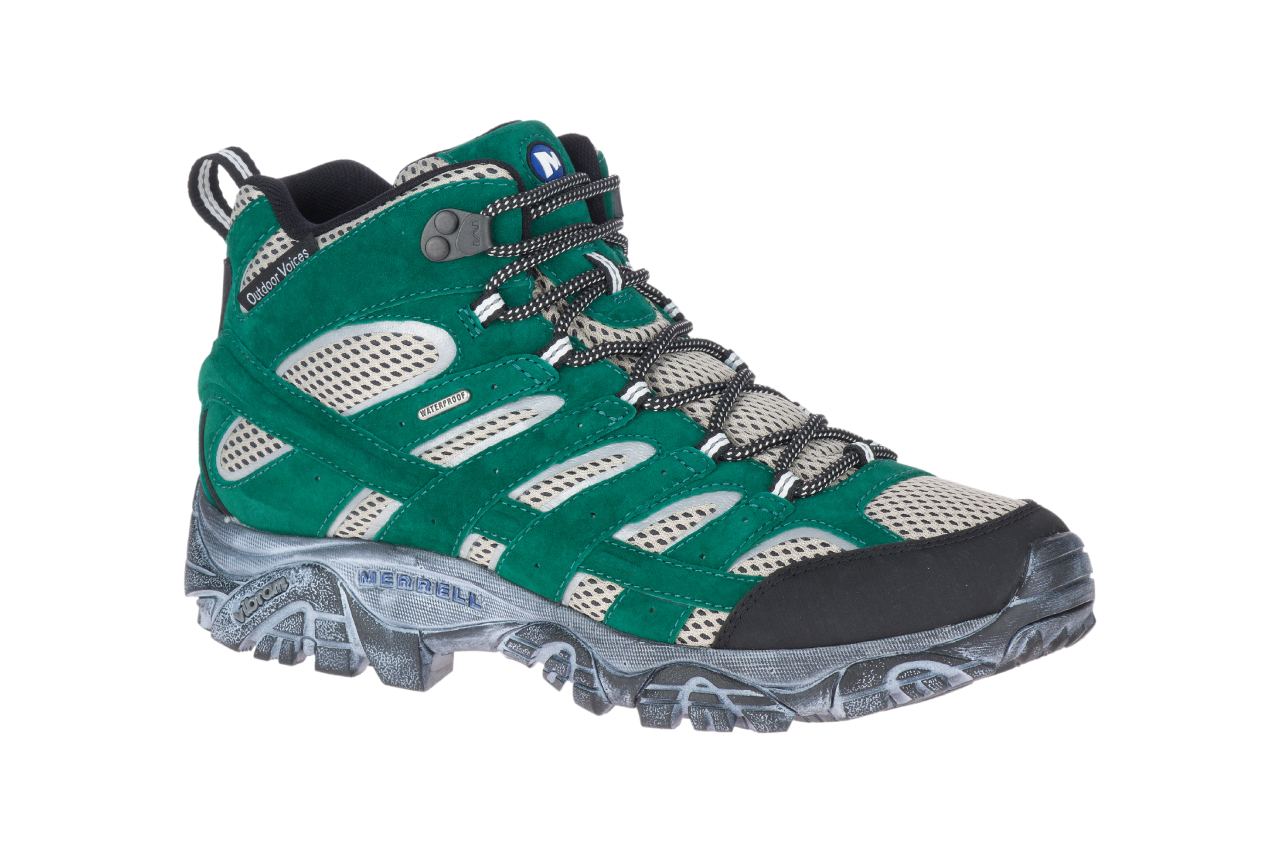 moab merrell outdoor voices hiking boots collaboration