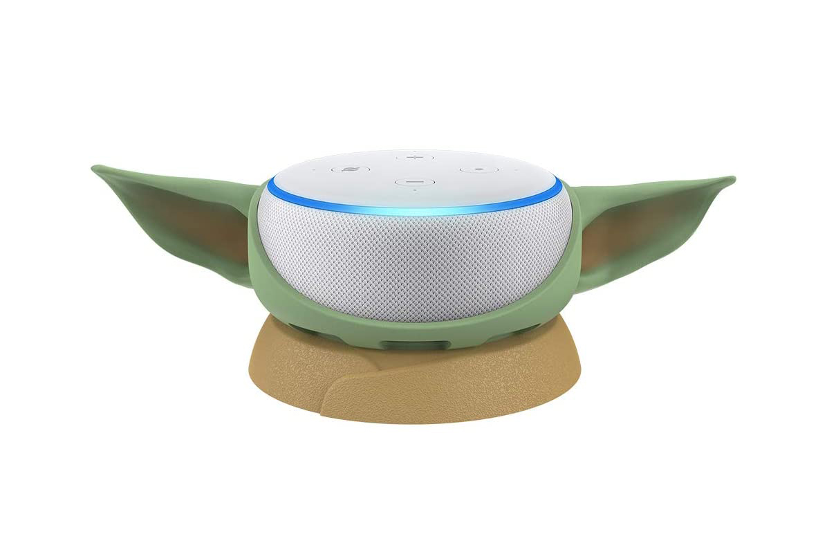 Otterbox Amazon Echo Dot Baby Yoda Cover Tech The Mandalorian Otterbox speaker baby yoda