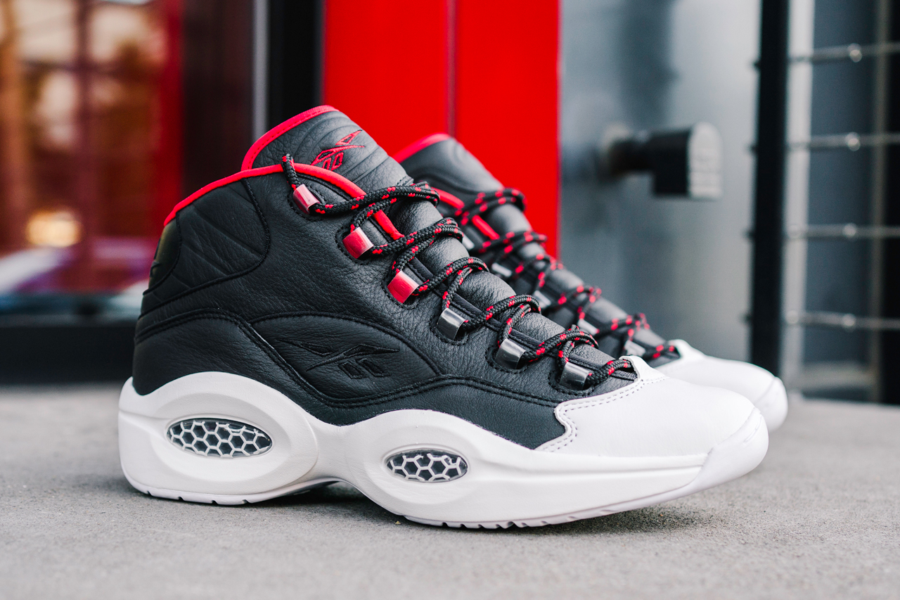 reebok question mid og meets og allen iverson james harden adidas official release date info photos price store list buying guide