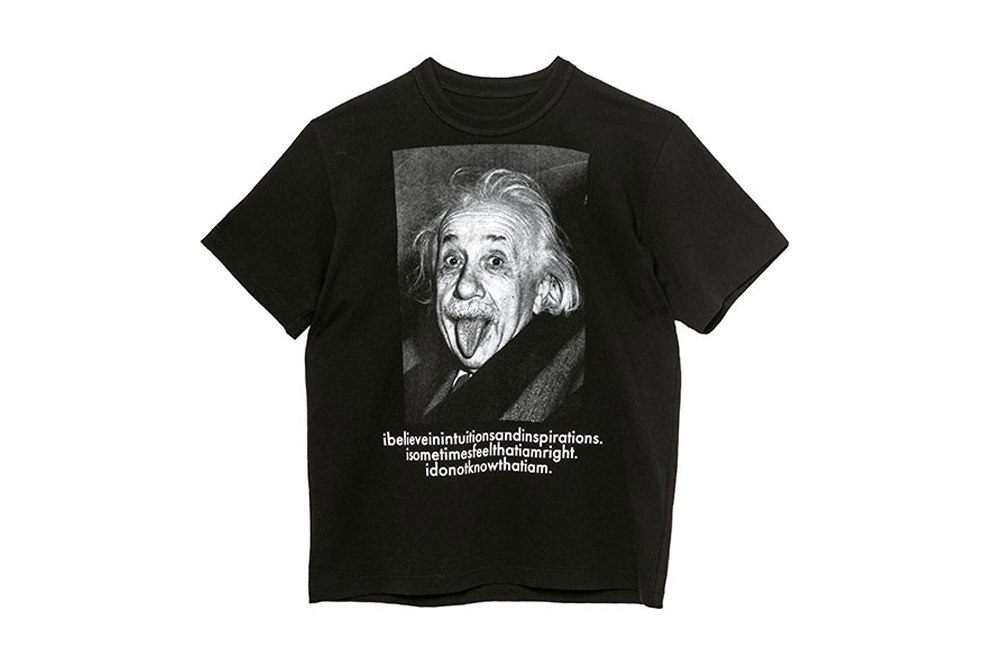 sacai Albert Einstein T-shirt