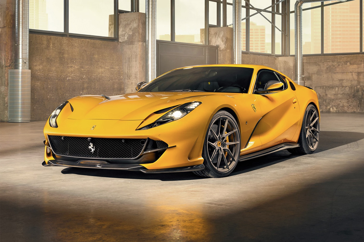 NOVITEC 打造 Ferrari 812 Superfast 全新改装版本