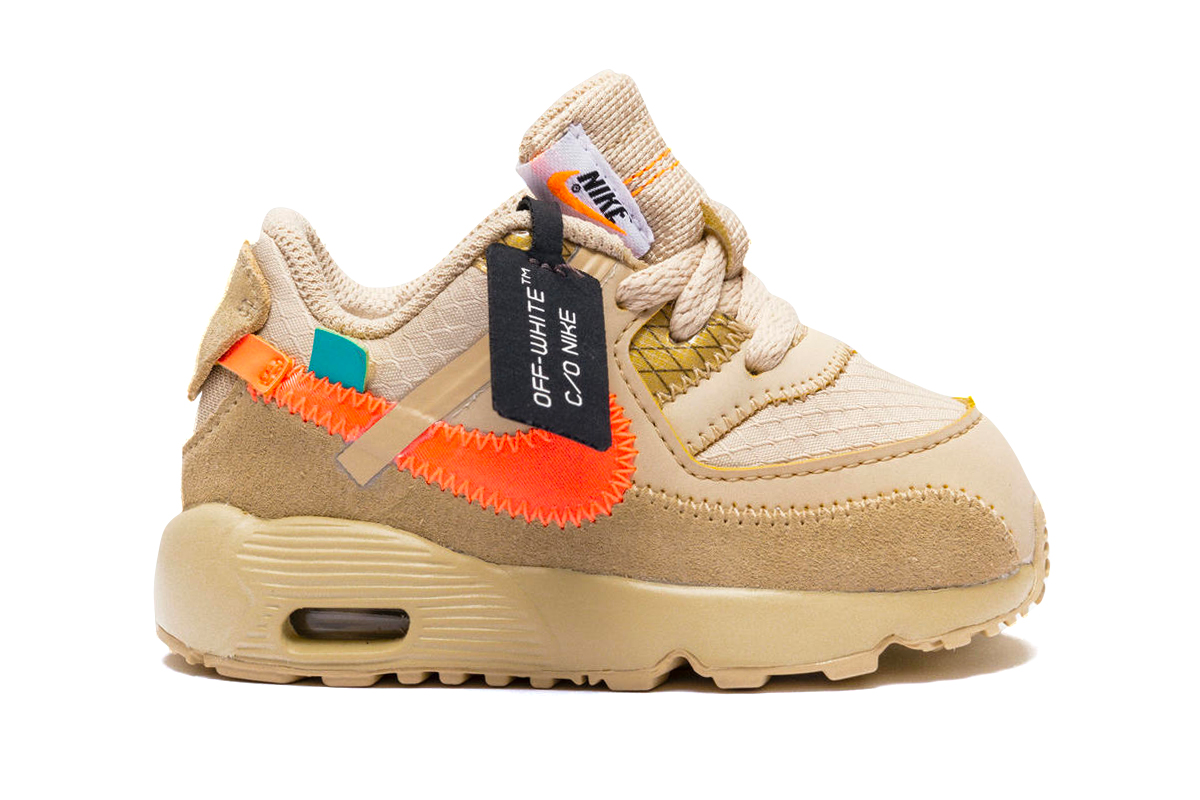 Off White™ x Nike Air Max 90 童鞋版本发售详情公开_原创_品牌